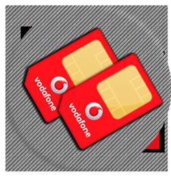 Парный номер Vodafone