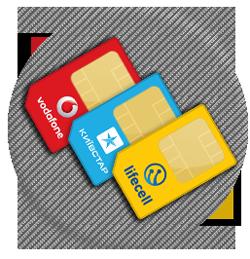 Парный номер Киевстар Vodafone Lifecell